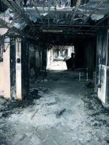 門小2階廊下