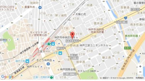 勤労会館地図