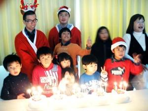 20141223クリスマスケーキ
