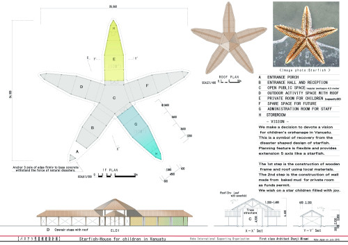 Starfish-House design