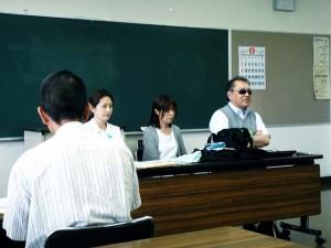 武本泰事務局長 子ども脱被ばく裁判の会事務局  富久山公民館 2015年8月19日