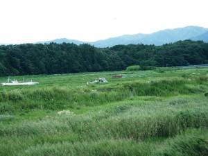 点在する船 浪江町 2014年9月2日