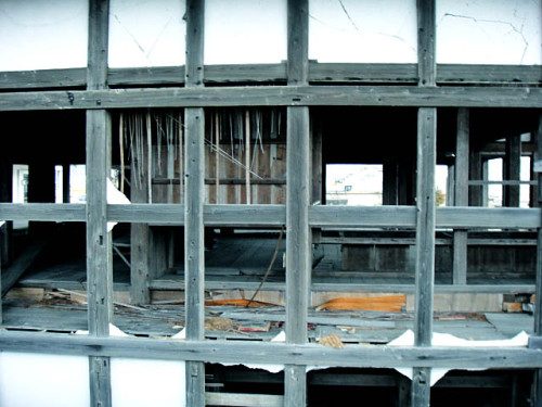 震災から5年を経ても,復興は厳しいことに参加者は驚きます。