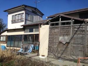 宮城県石巻市 倒壊家屋 2016年3月21日