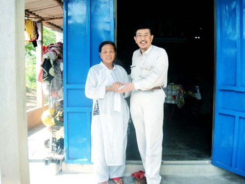 フエ市Hoang Thi Houngさん未亡人(60歳)