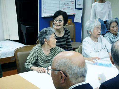 2011年11月2日 老人ホーム慰問